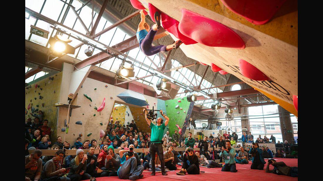 KL Michaela Tracy CWIF Boulder-Wettkampf 2018 Sheffield