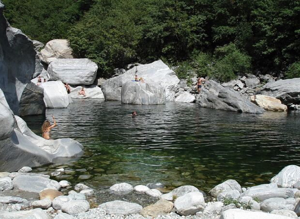 KL Monte Garzo Baden in der Maggia