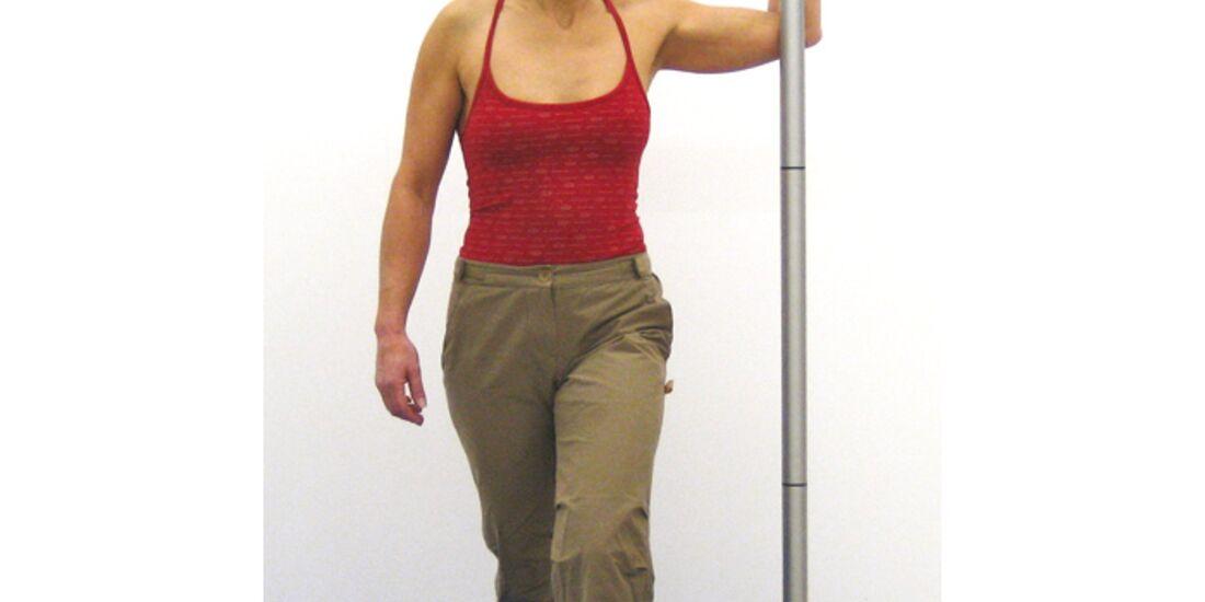 KL Nackenprobleme - Dehnen des Brustmuskels