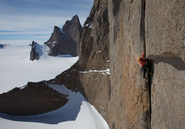 KL OD Huberbuam in Antarktis