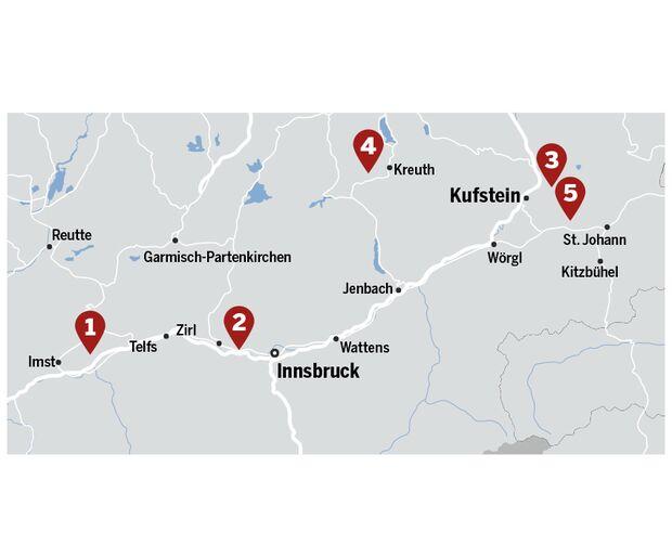 KL Plaisir in Tirol Kalk MSL Karte