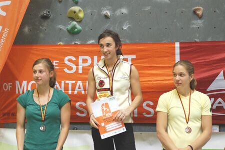 KL Podest Damen Sportklettercup Forchheim