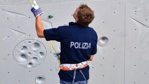 KL Polizei sichert bei Kletter-Weltmeisterschaft in Arco