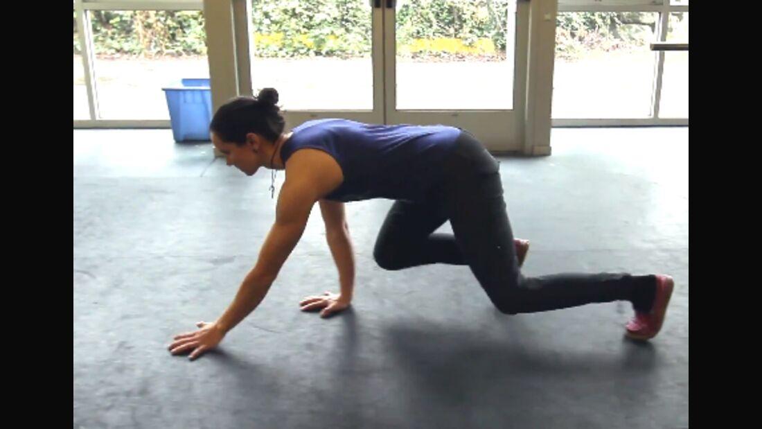 KL Quadrupedal Movement von Mercedes Pollmeier- Ausgleichstraining für Kletterer: Vierfüßler-Moves
