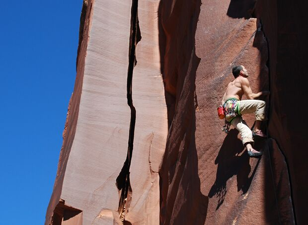 KL Schwer Klettern in Utah