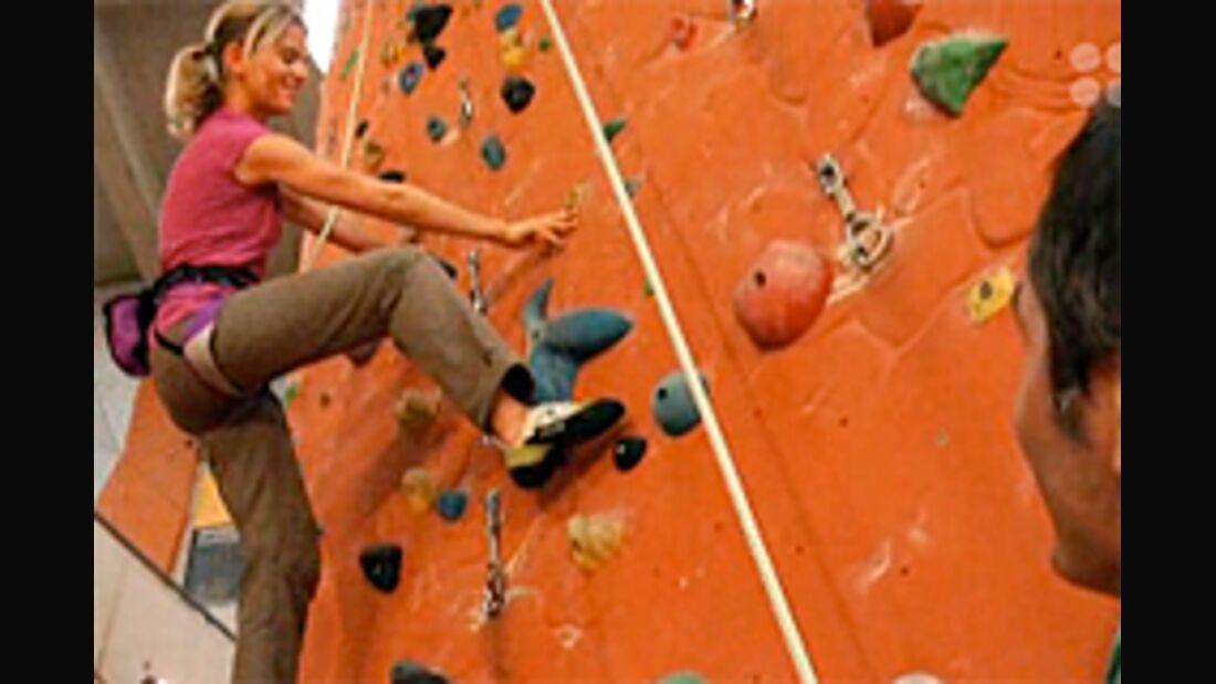 KL Sicher Toprope Klettern DAV-Video