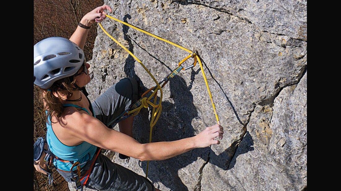 KL Sicher umbauen nach dem Klettern - so geht's Teaser