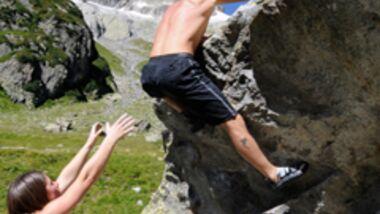 KL Spotten beim Bouldern