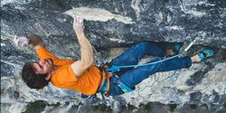 KL Stefano Ghisolfi FA One Punch 9a+