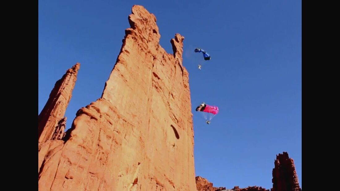 KL Steph Davis Basejumping Fear Vid Teaser