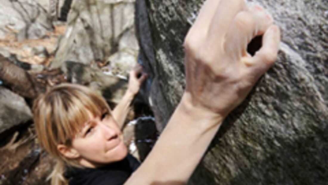 KL Tessin Bouldern Finger
