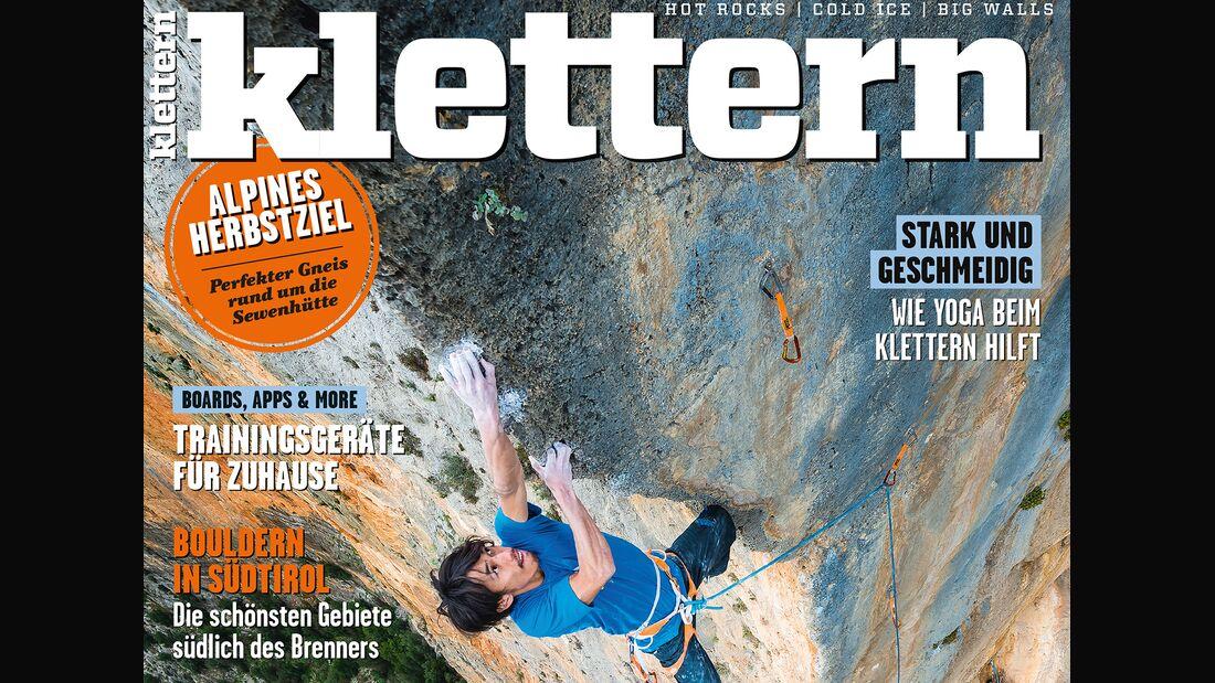 KL Titel Cover klettern 7-2017 Querformat / TEaser