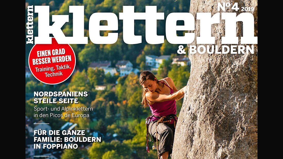 KL Titel KLETTERN 4-2019 TEaser Querformat
