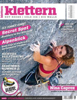 KL Titel klettern Juli / August 2010
