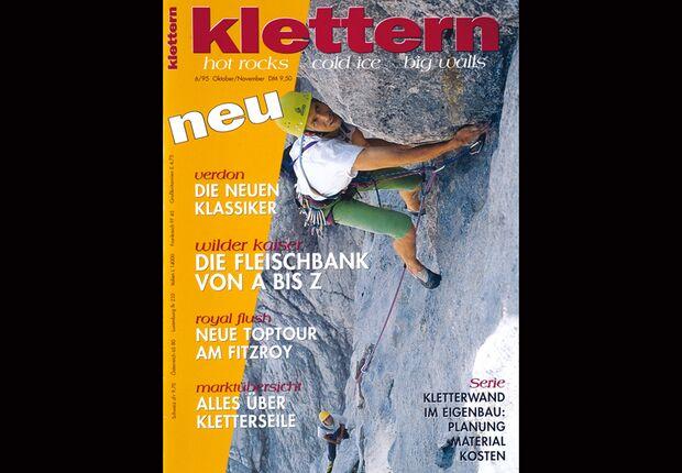 KL Titelbild Cover Erstausgabe klettern Magazin