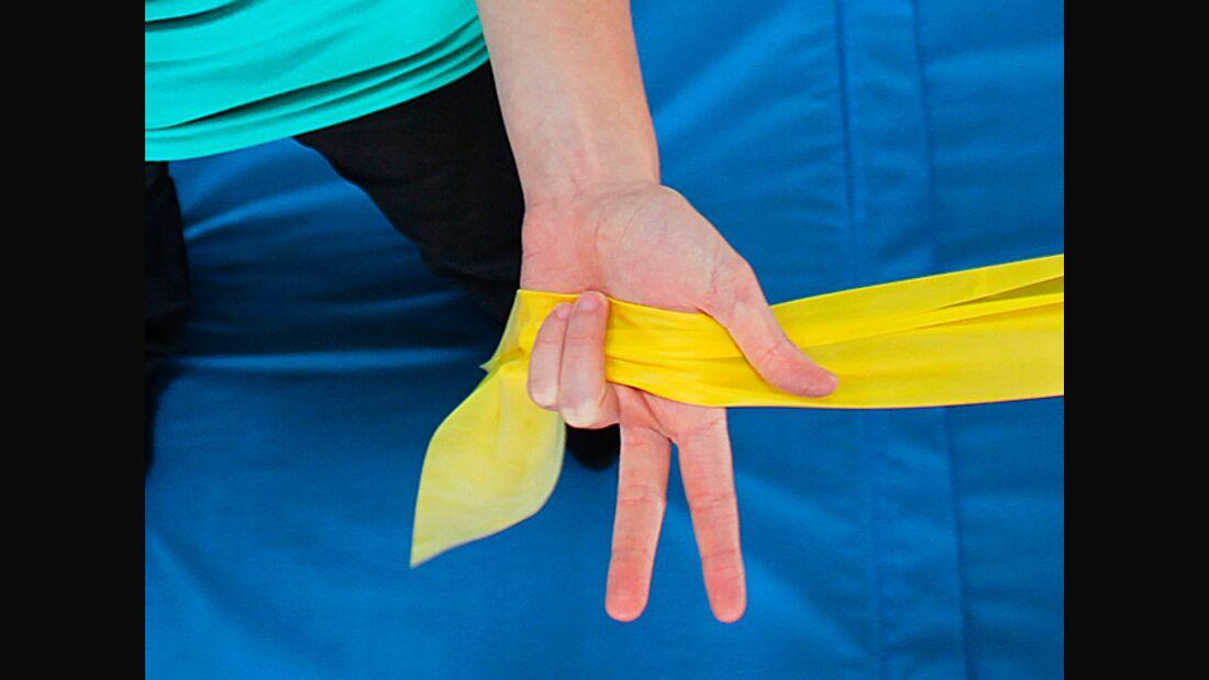KL Training Schulter stabilisieren Theraband Übungen teaser