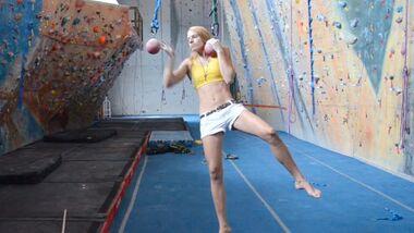 KL Training for Climbing Clip 1 Galina Parfenov TEaser