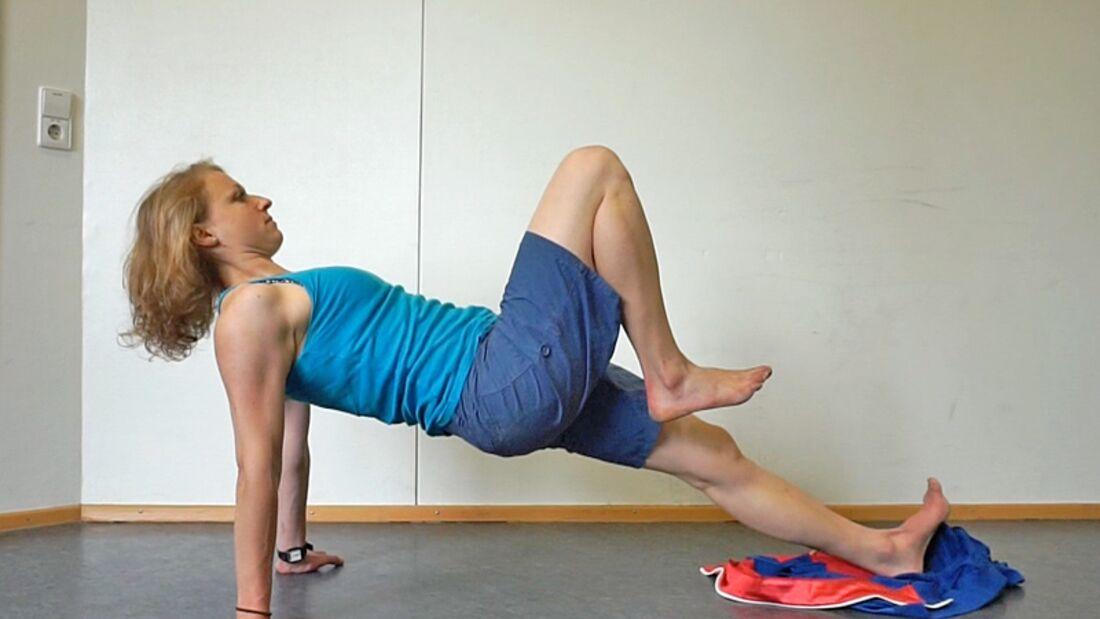 KL Übungen Körperkraft Bettina Struch Rumpfkraft