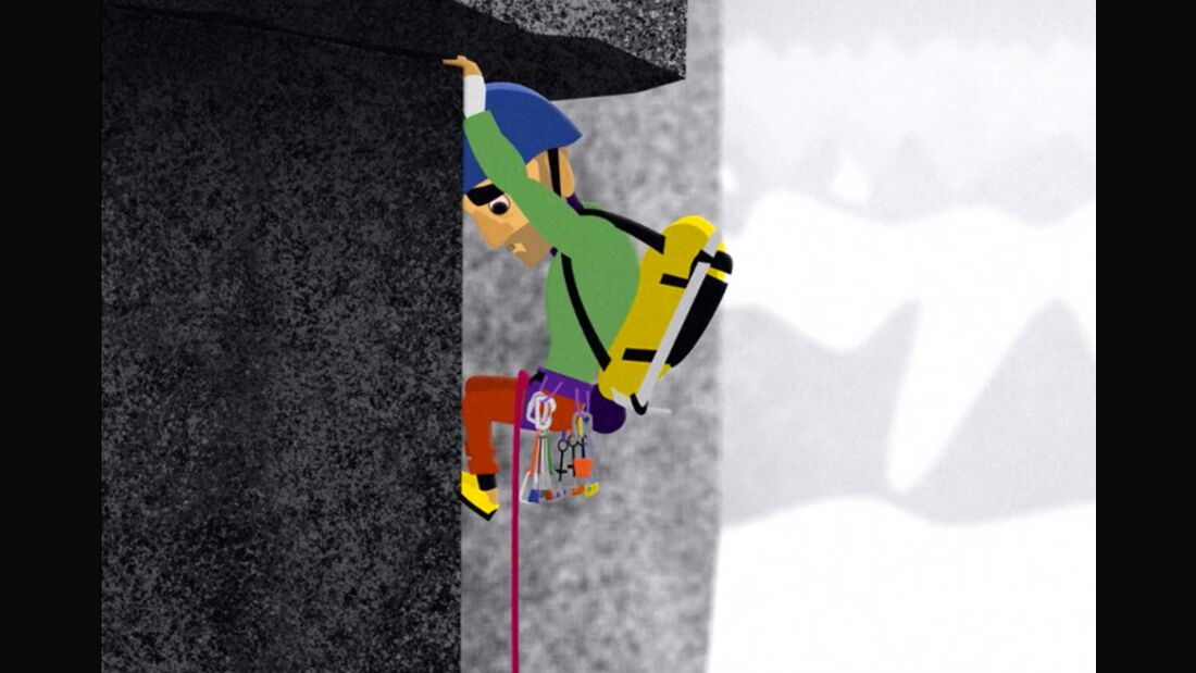 KL Uruca II animated Alpine Climbing Bugaboos Edition teaser