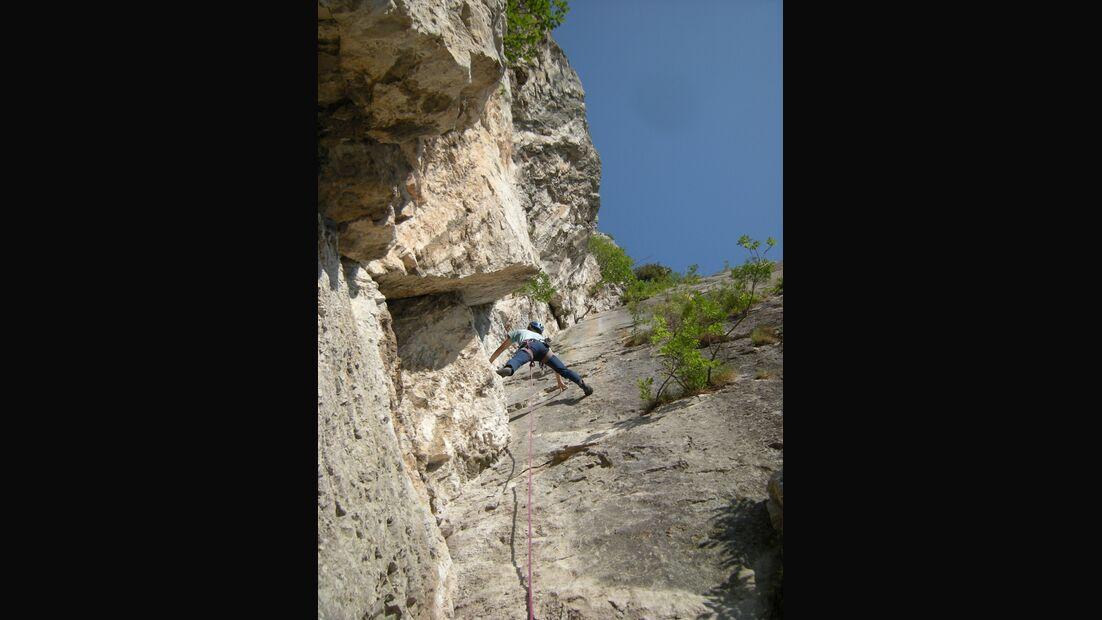 KL-alpines-Sportklettern-Sarcatal-Gardasee-c-Franz-Heiss-Via gran diedro