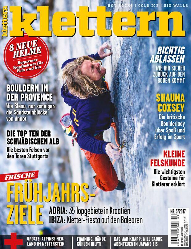 KL klettern 3 - 2017 Cover Titel