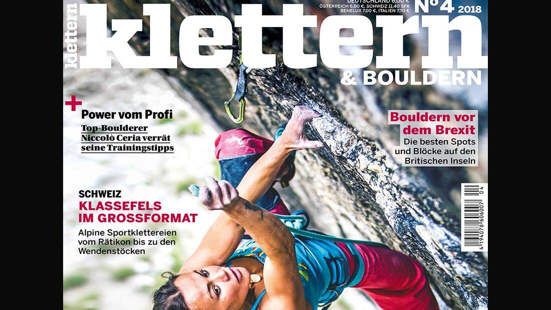 KL klettern Magazin 4-2018 TEase Querformat