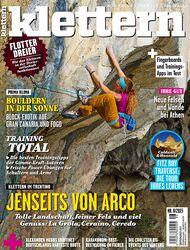 KL klettern Magazin Titel Cover 08 - 2015 mit 68