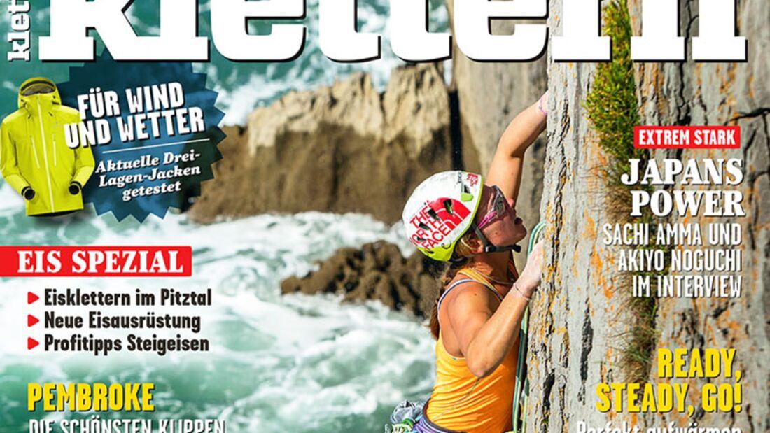 KL klettern magazin 01 - 2016 titel cover querf mit 68