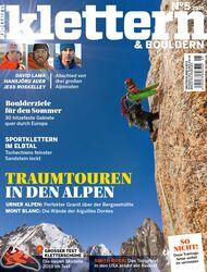 KLETTERN 05-2019 Titel Cover
