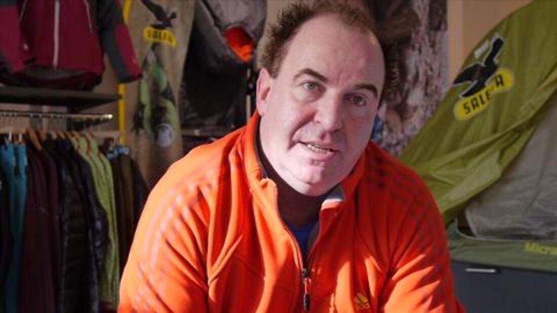 "Kletter-Training mit Thomas ""Shorty"" Tauporn Teil 4 - Interview mit Trainer Erwin Marz"