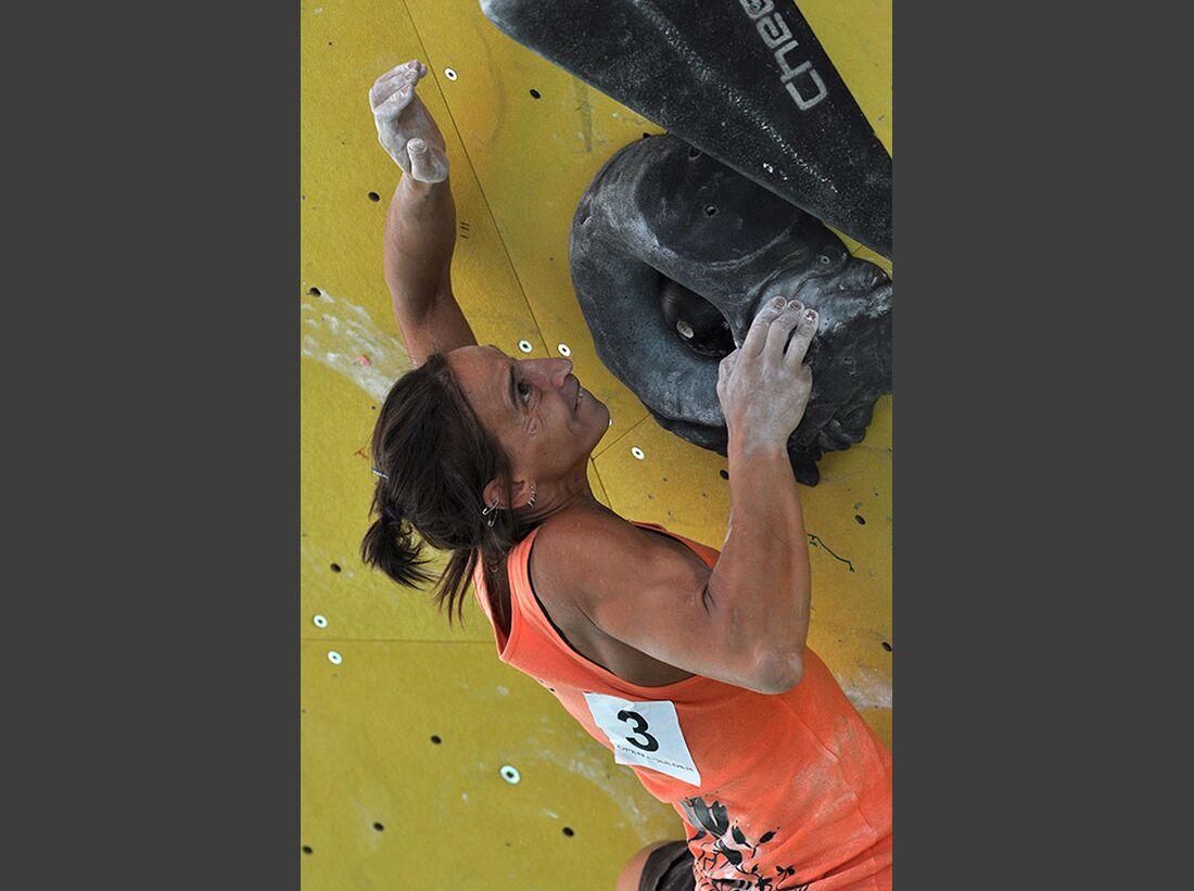 Kletter-Wettkampf: Rock Master Arco am Gardasee (Bilder International Open Boulder) 14