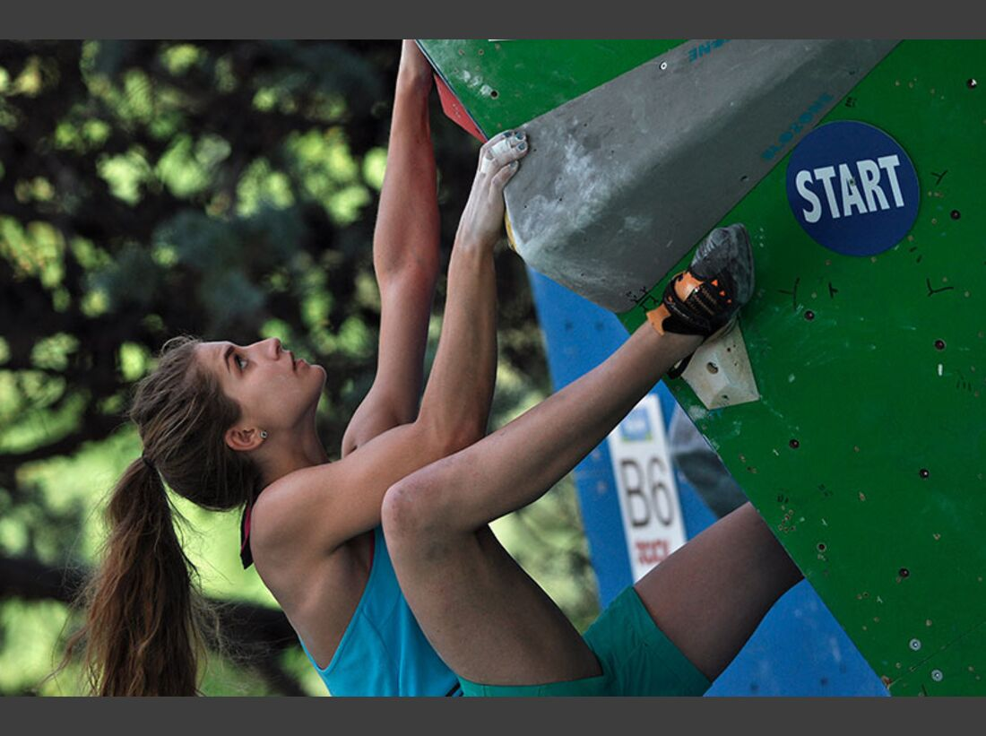 Kletter-Wettkampf: Rock Master Arco am Gardasee (Bilder International Open Boulder) 33