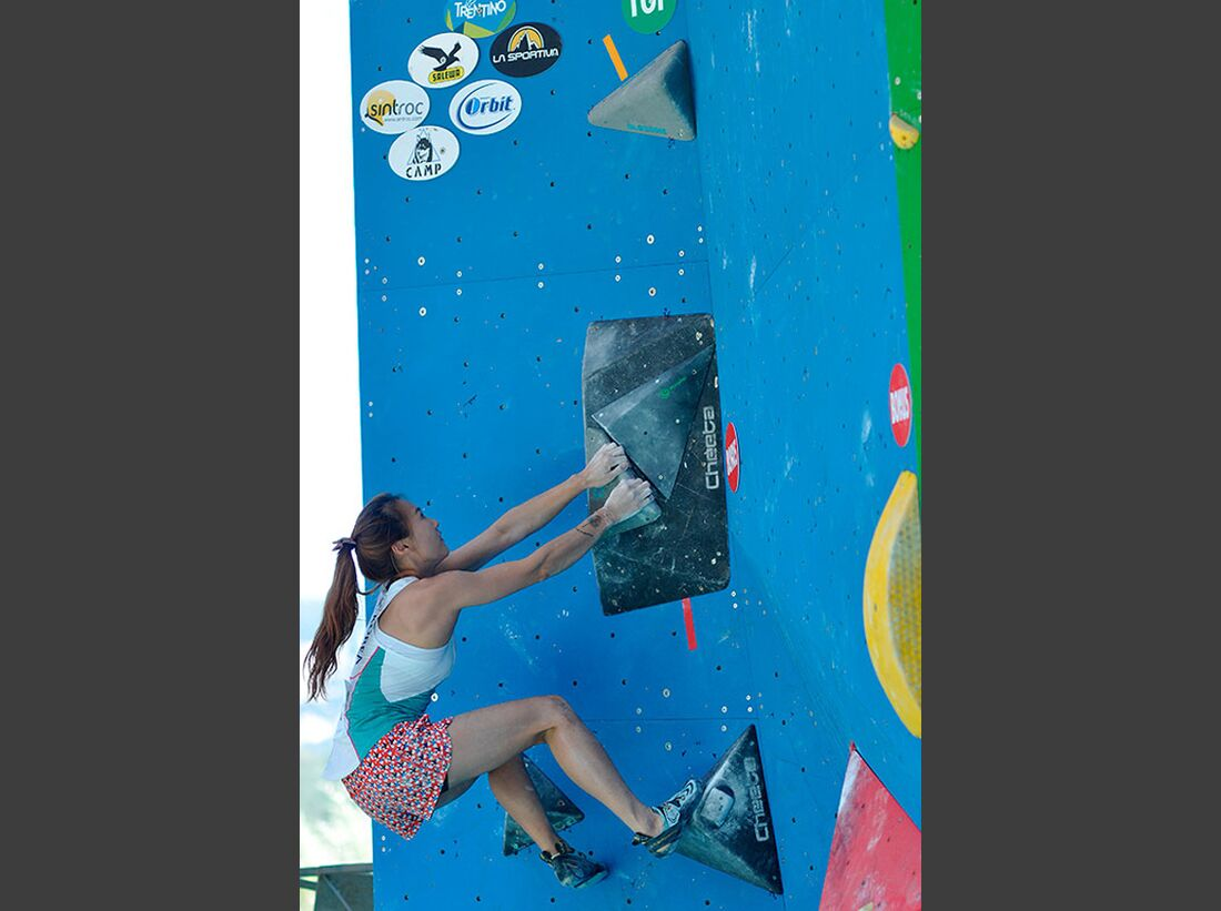 Kletter-Wettkampf: Rock Master Arco am Gardasee (Bilder International Open Boulder) 35
