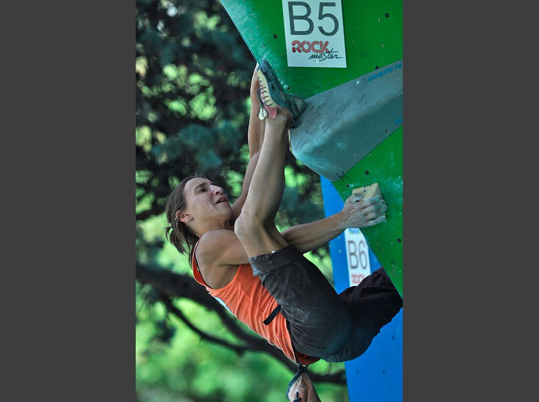 Kletter-Wettkampf: Rock Master Arco am Gardasee (Bilder International Open Boulder) 9