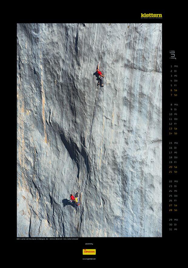 Klettern 2013 - Kalenderbilder 10