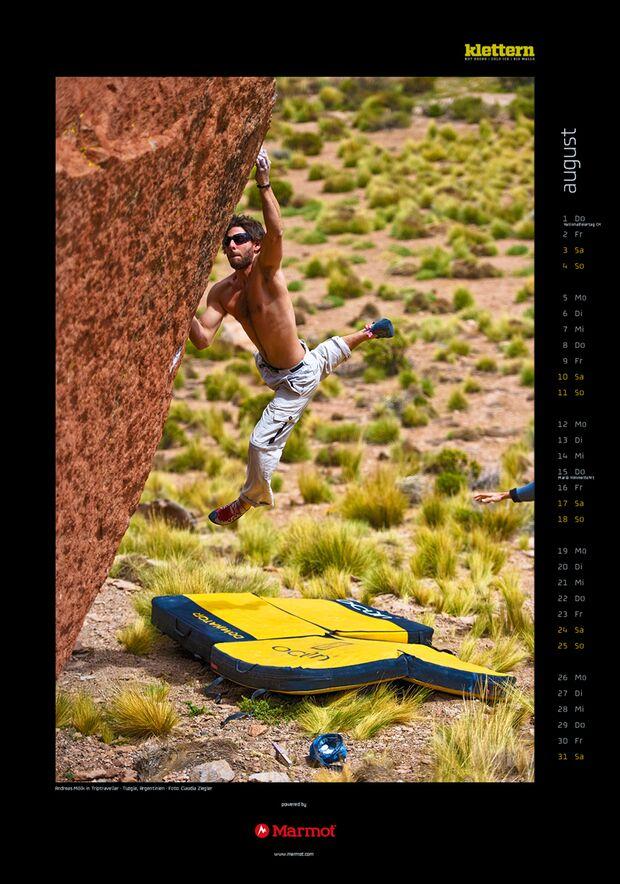 Klettern 2013 - Kalenderbilder 11