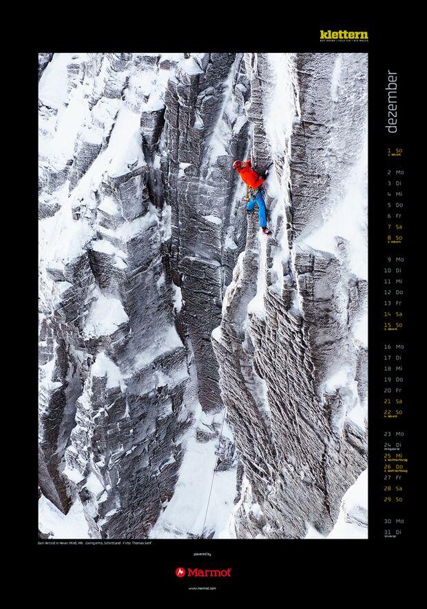Klettern 2013 - Kalenderbilder 15