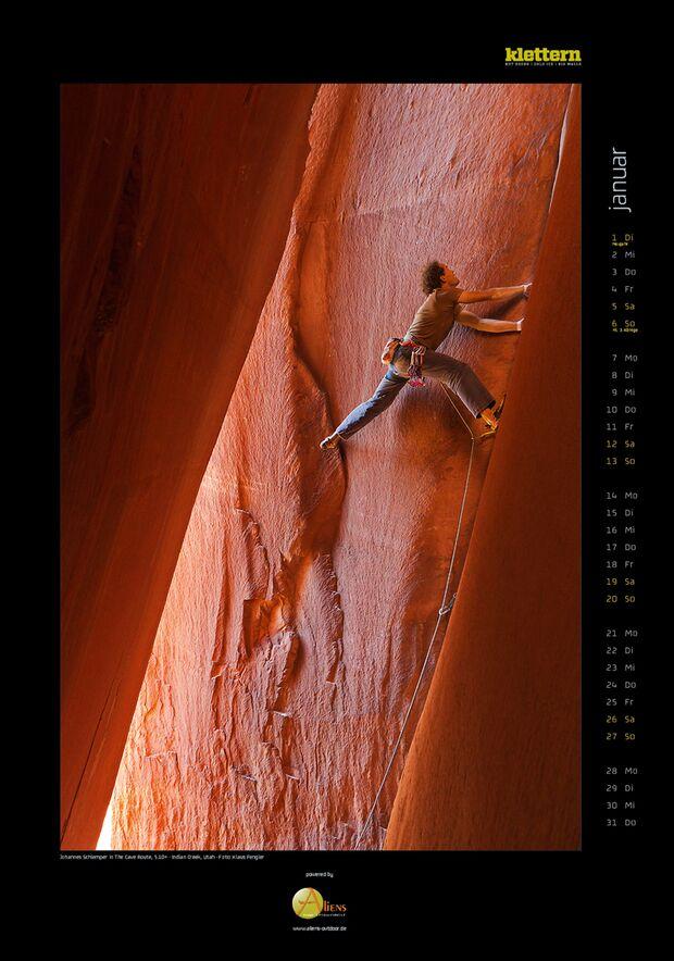 Klettern 2013 - Kalenderbilder 4