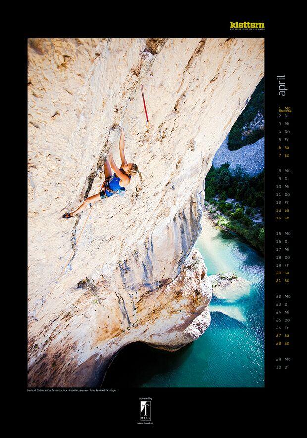 Klettern 2013 - Kalenderbilder 7