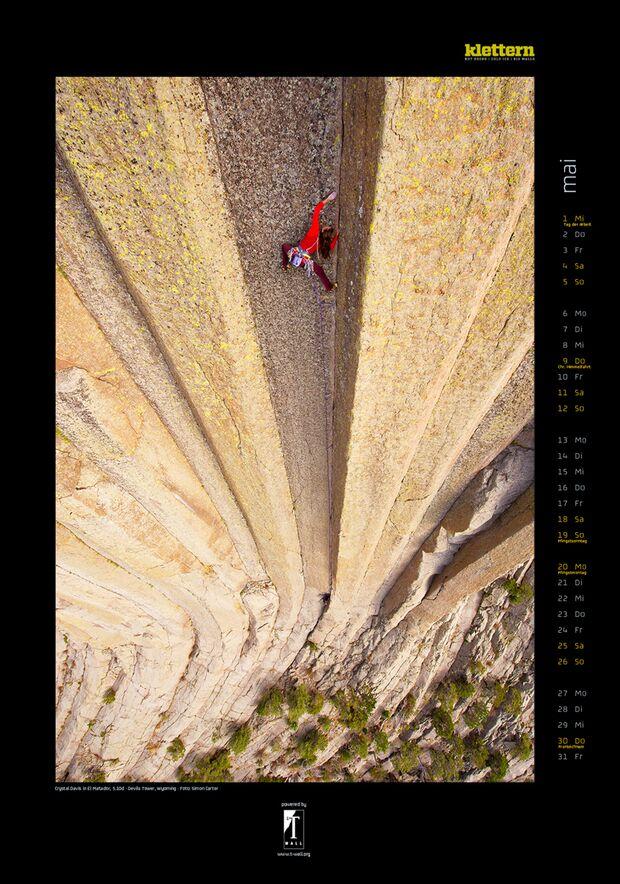 Klettern 2013 - Kalenderbilder 8