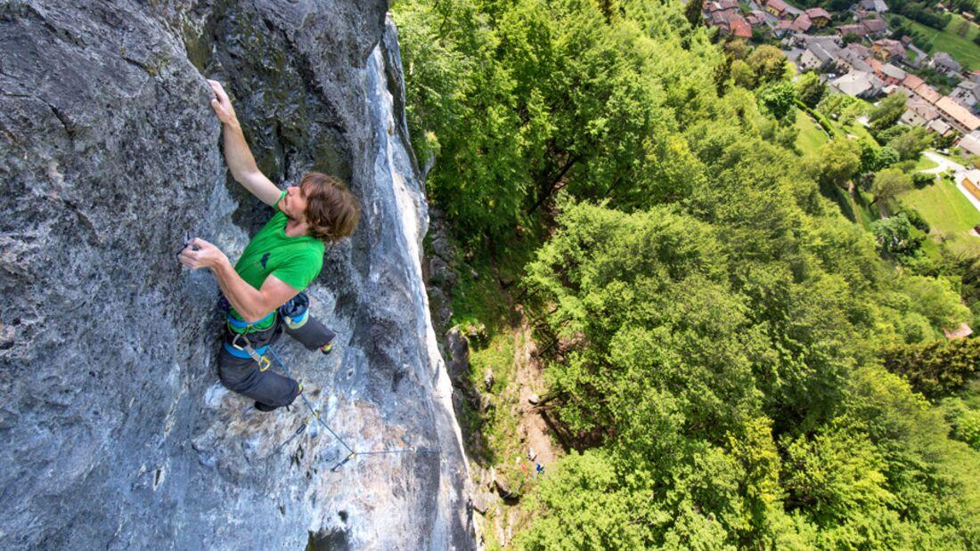 Klettern Bergamo: Portiera, Cornalba, Valgua, Onore, Valle dei Mulini, Colere