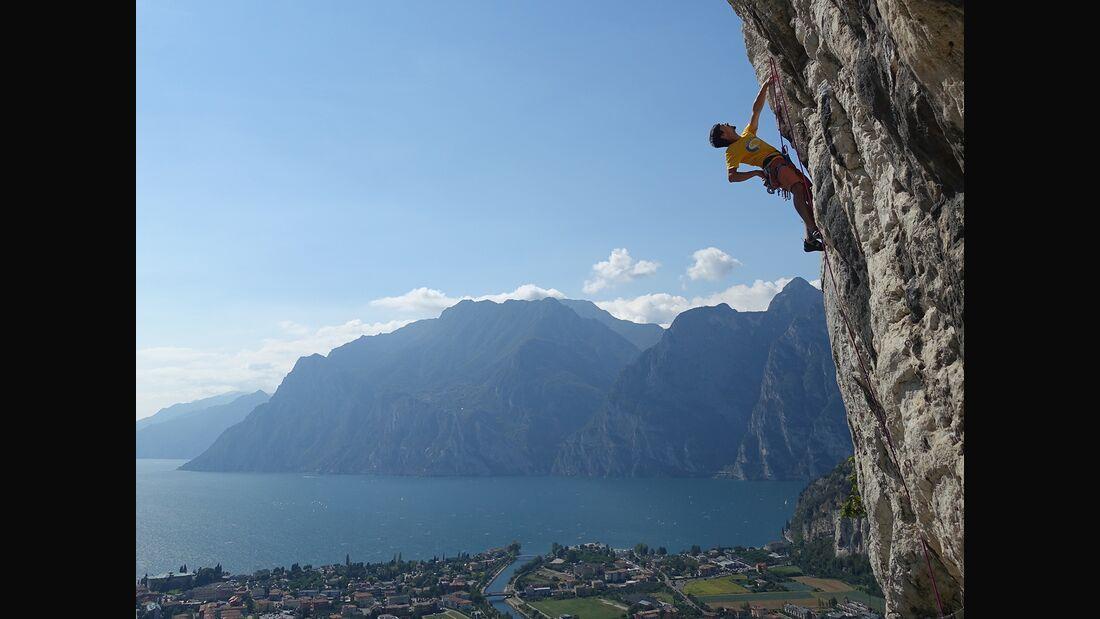 Klettern am Gardasee, Arco, Klettergarten Belvedere
