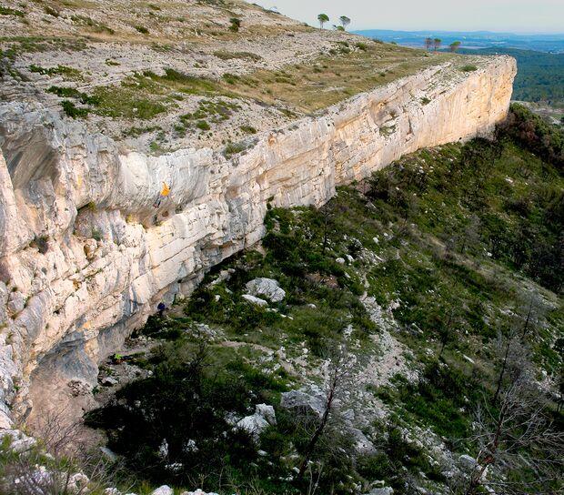 Klettern bei Montpellier