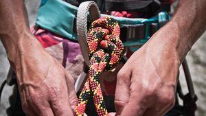 Kletterseile desinfizieren - wie geht es und was passiert mit dem Seil