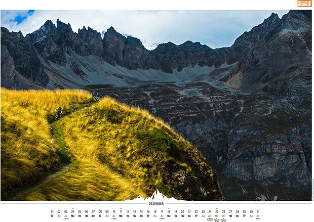 MB 2016 Kalender Best of Mountainbike 2017 Dezember