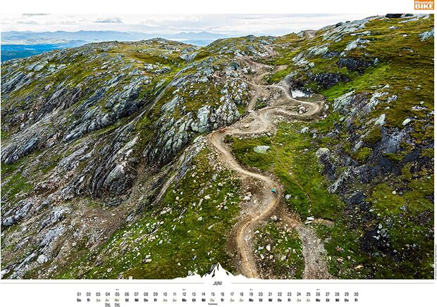 MB 2016 Kalender Best of Mountainbike 2017 Juni