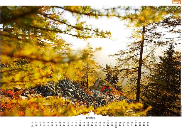 MB 2016 Kalender Best of Mountainbike 2017 November