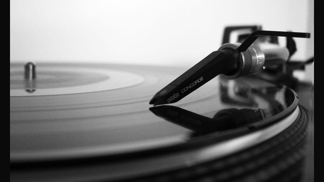 Musik vom Vinyl, Plattenspieler