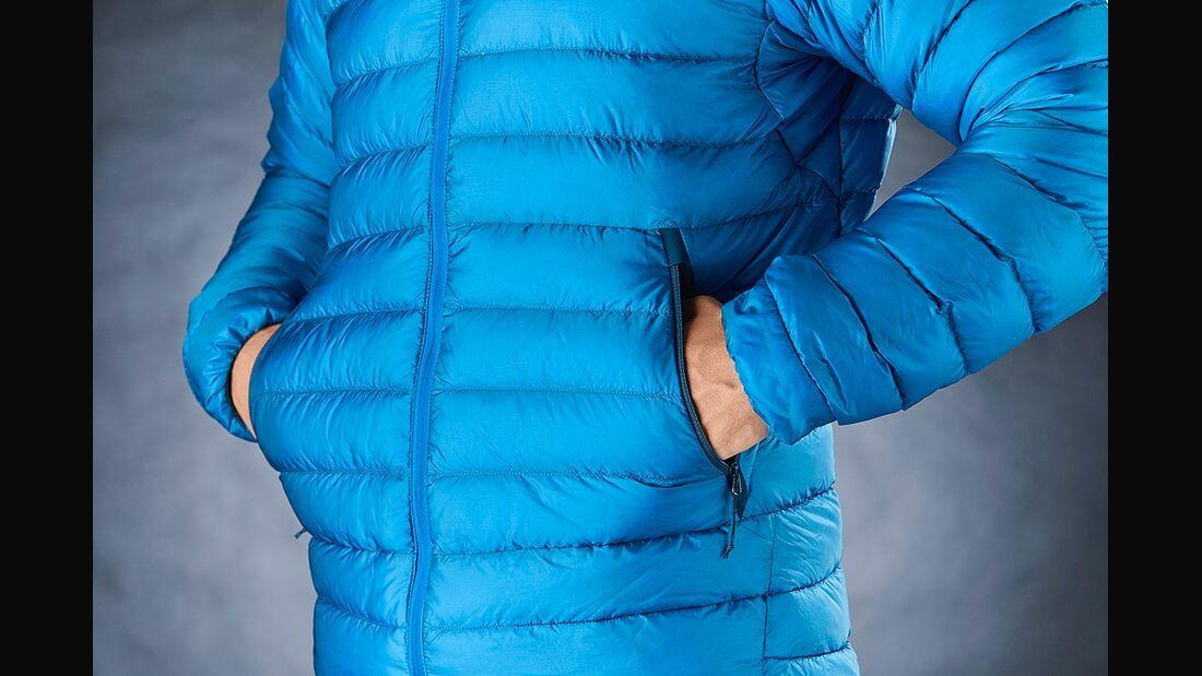 OD 1217 Daunenjacken Kunstfaserjacken Details Taschen