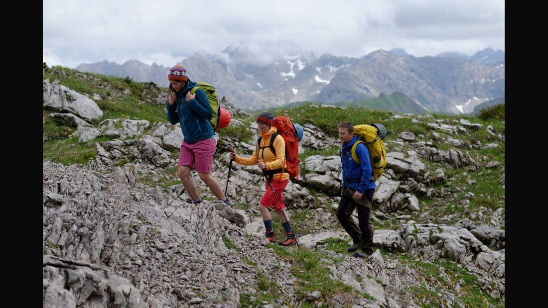 OD 2014 Bergstiefel Bergschuhe Klettersteig Test Alpen 1